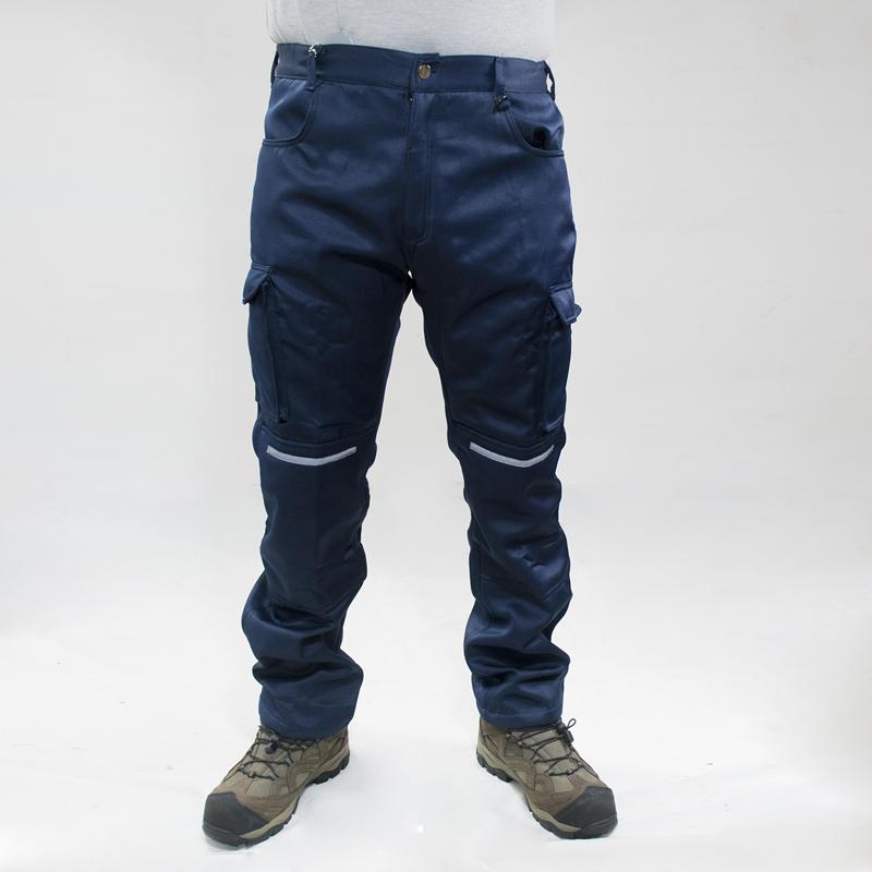 Pantalon Trabajo Gabardina Cargo Forro Fusionado Arcam